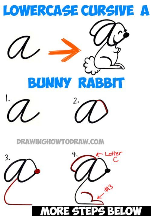 how to draw a cartoon rabbit easy