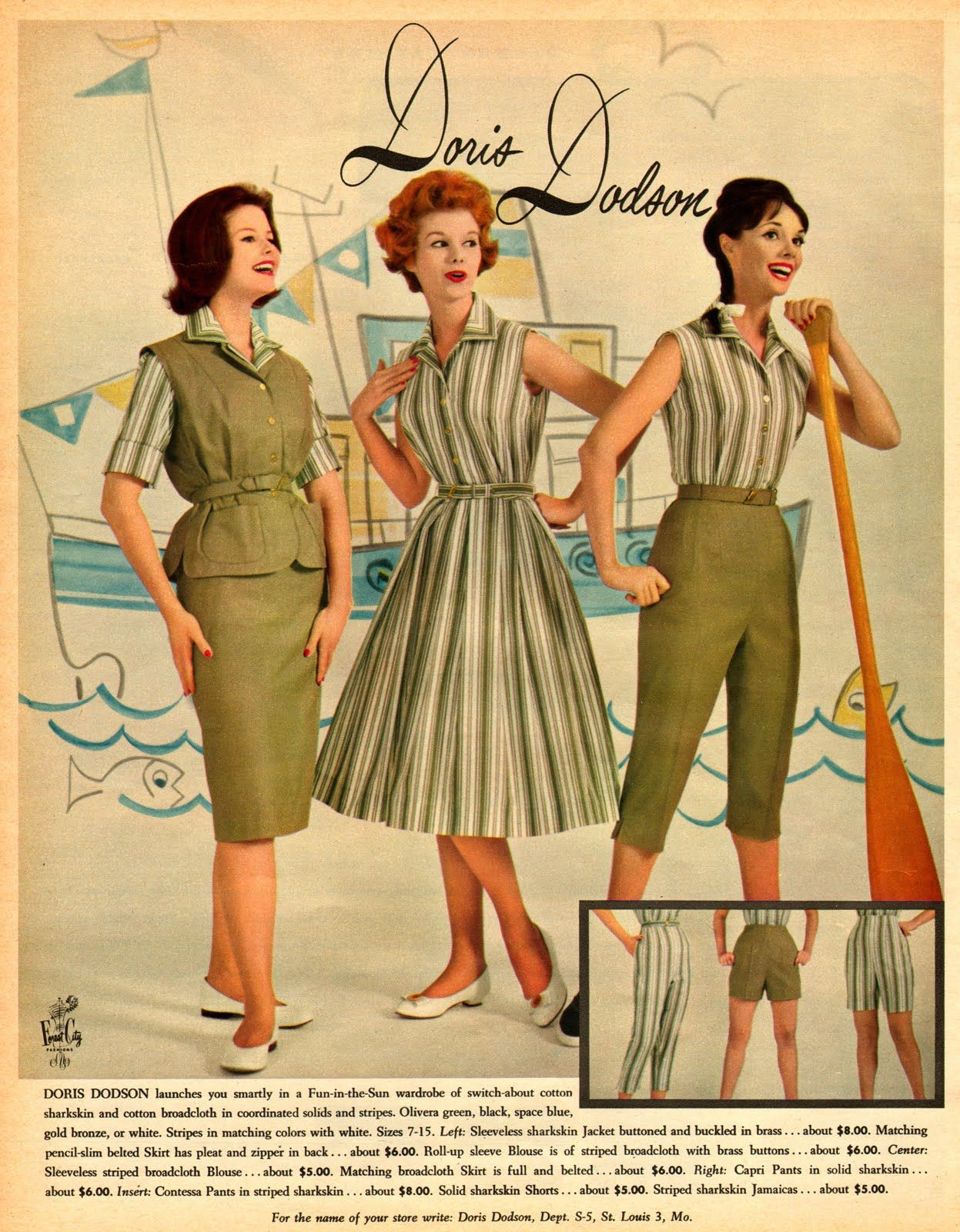 629abdc7df9edb057948bc382a81cf6c 1960's fashion advertisements in 1960 from \