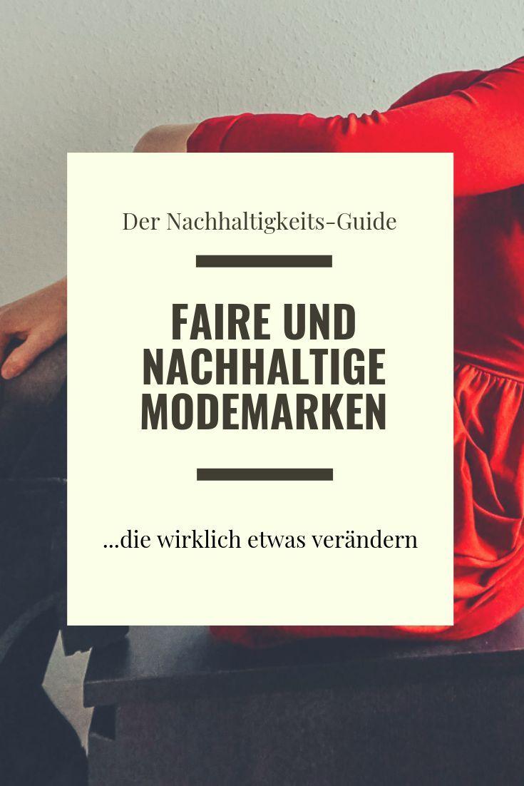 3 faire & nachhaltige Modemarken, die wirklich etwas ...