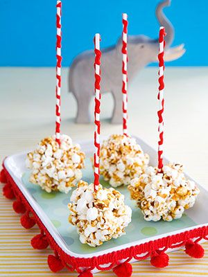 ...on a stick!!!  Love, Love, Love popcorn balls!!! :)