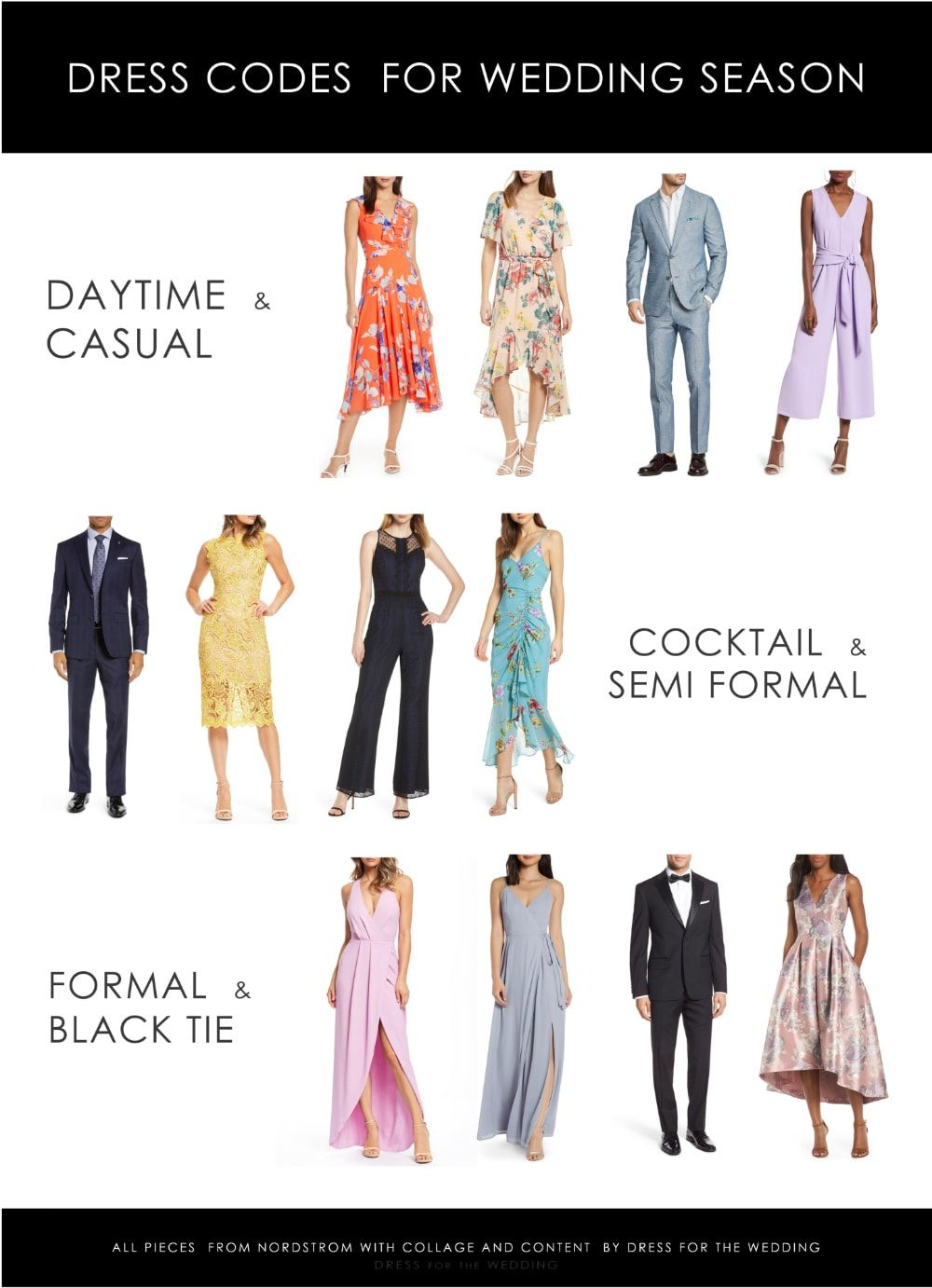 Getting Ready For The 2019 Wedding Season With Nordstrom Casual