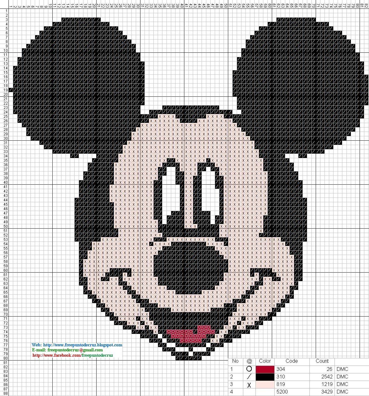 Free Cross Stitch Designs: Mickey and Friends | Punto de cruz ...