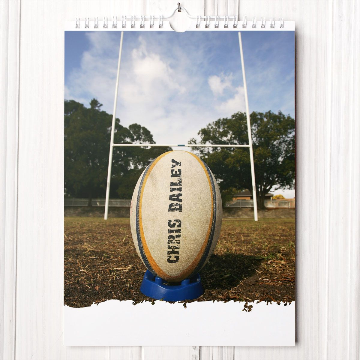 20 Scrumy Rugby Gift Ideas Personalised Calendar Rugby Sports
