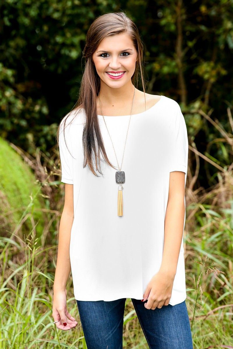 No matter how you style this oversized top, or where you wear it, you'll have onlookers falling head over heels for your effortless panache. Our Just About Anywhere tops are best sellers year after year. Add a scarf, wear it with shorts or sleep in it-there is no end to the love you will have for this piece! Piko top has a scoop neckline and short cuffed sleeves. Unlined. 95% Bamboo, 5% Spandex. Machine wash cold with like colors. Tumble dry low. Iron low. Do not bleach. Made in China…