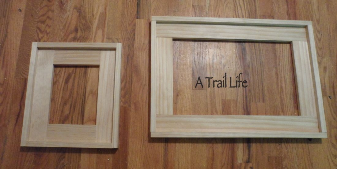 DIY Picture Frames From Basic Lumber and a Kreg Jig. This was my ...