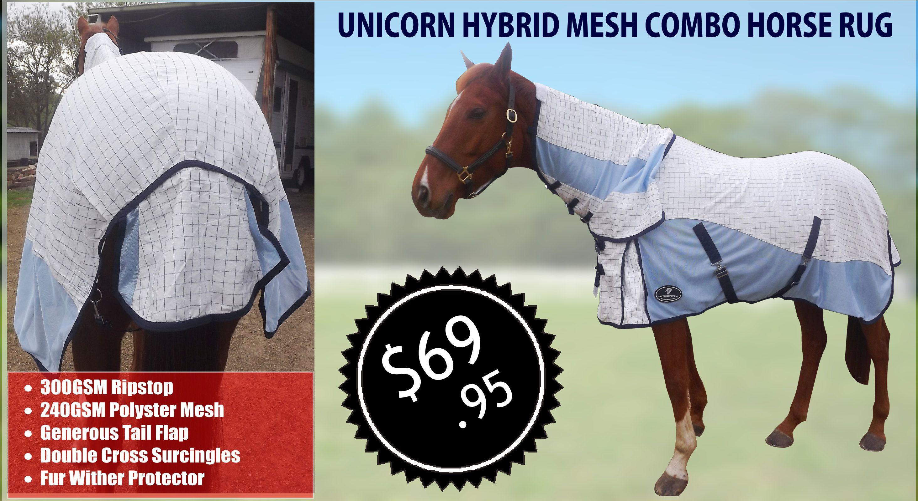 Unicorn Hybrid Mesh Combo Horse Rug Horse Rugs Horses Rugs