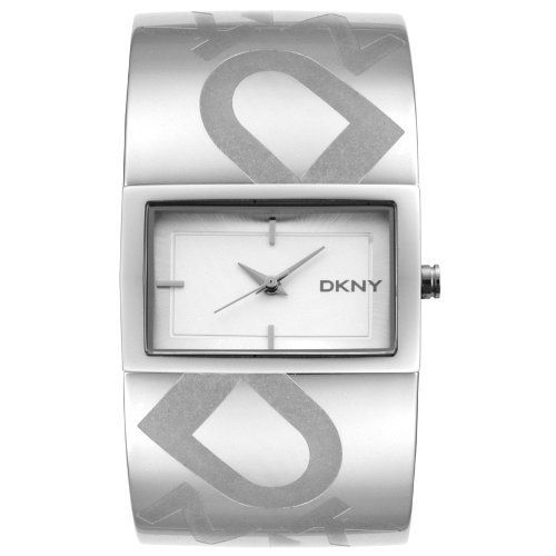 DKNY Women's NY4665 Bangle Stainless Steel Watch DKNY. $95.00. Accurate, high-quality Japanese-Quartz movement. Durable mineral crystal; Polished stainless steel case and bracelet. Engraved logo design on bracelet. Water-resistant to 99 feet (30 M). Silver dial with silver tone hands and hour markers