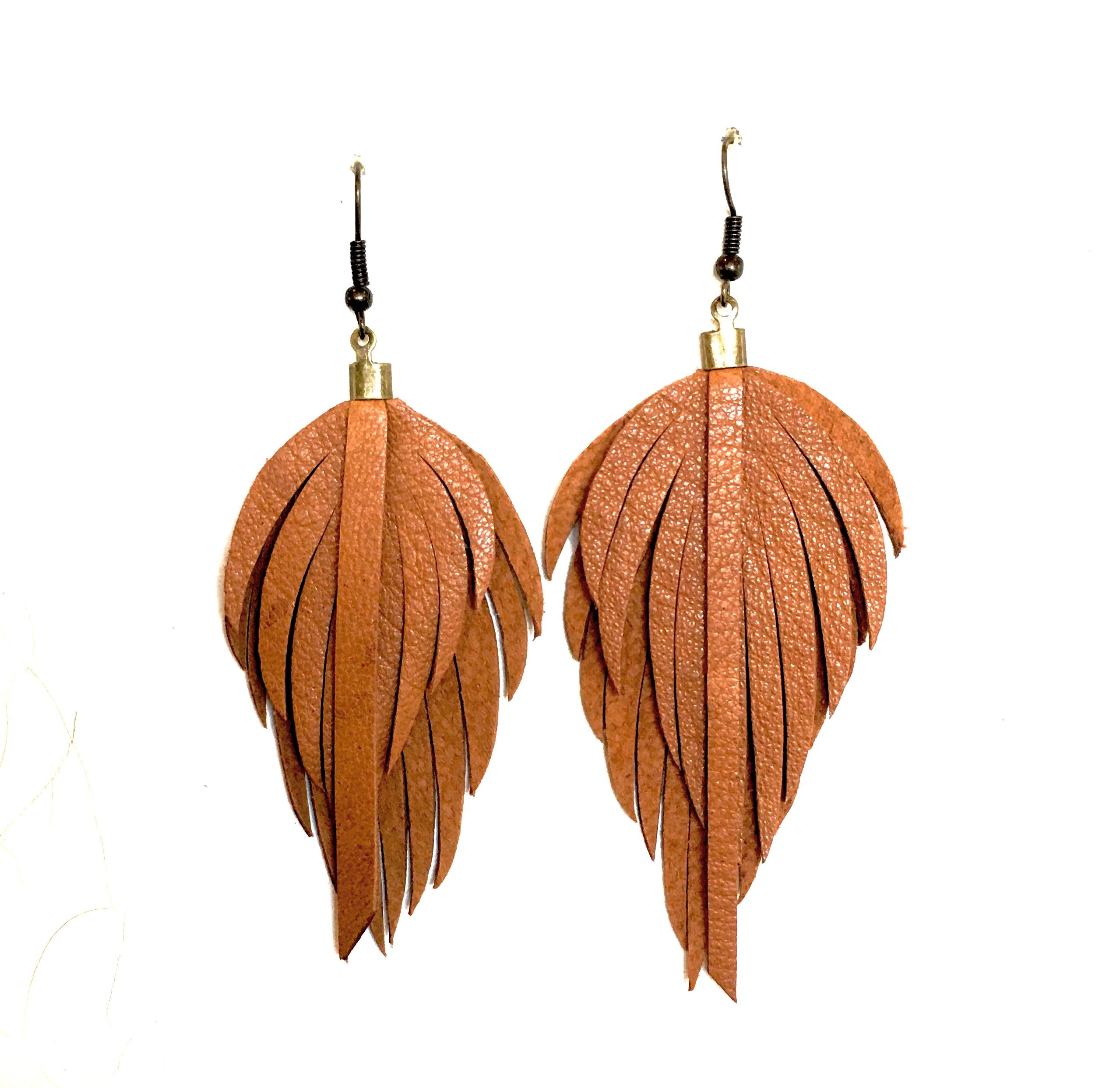 of feather feathered online earrings everything product best shopping small