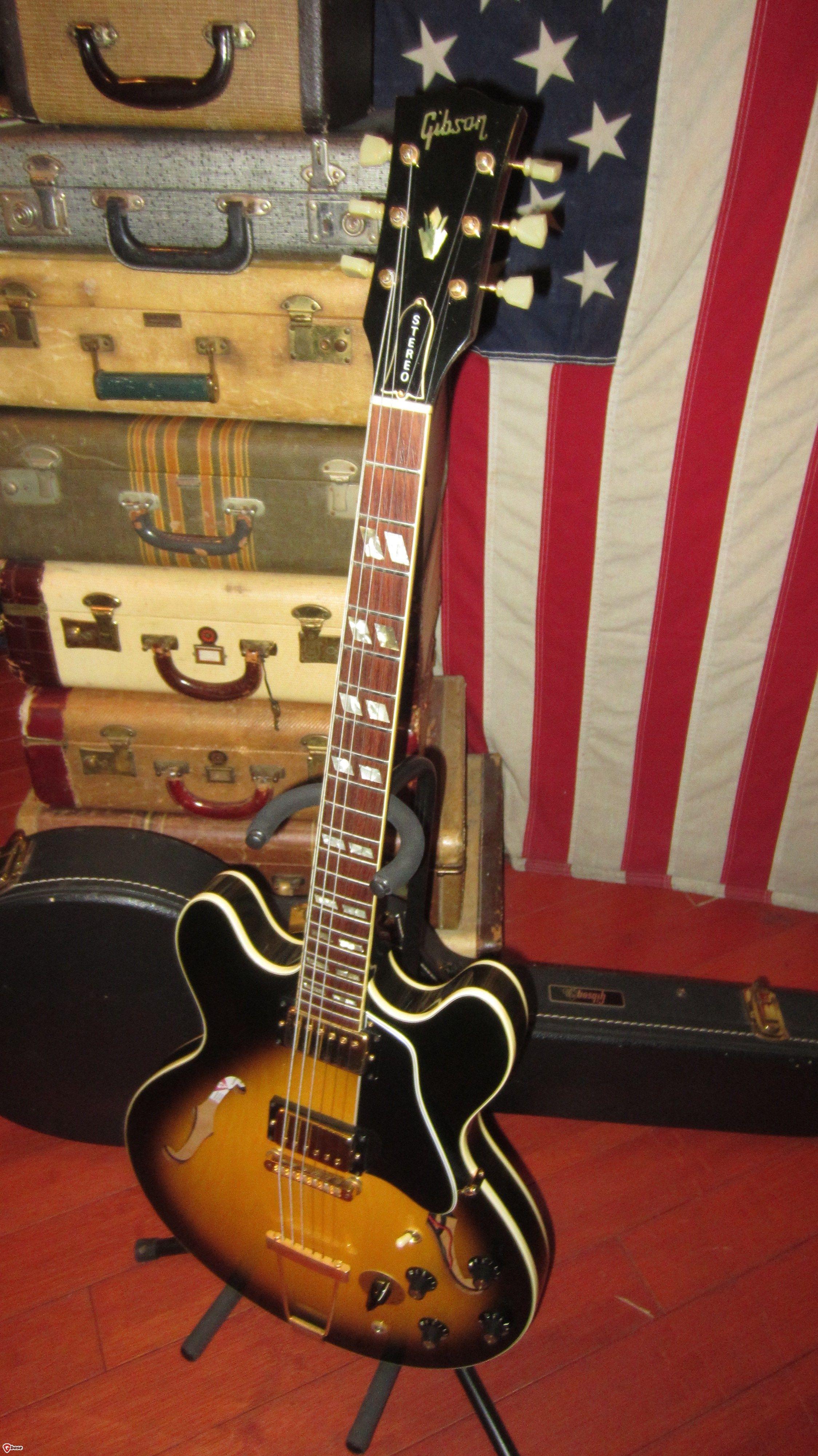 1973 Gibson Es 345 Sunburst Guitar Classic Guitar Guitar Amp