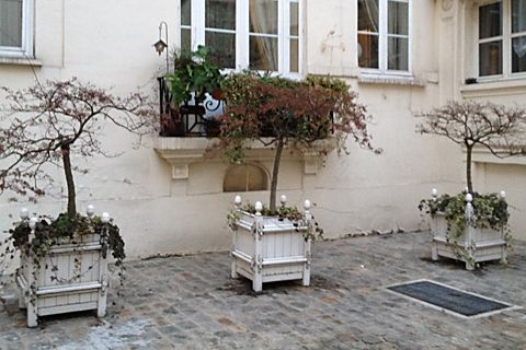 French Planter Boxes