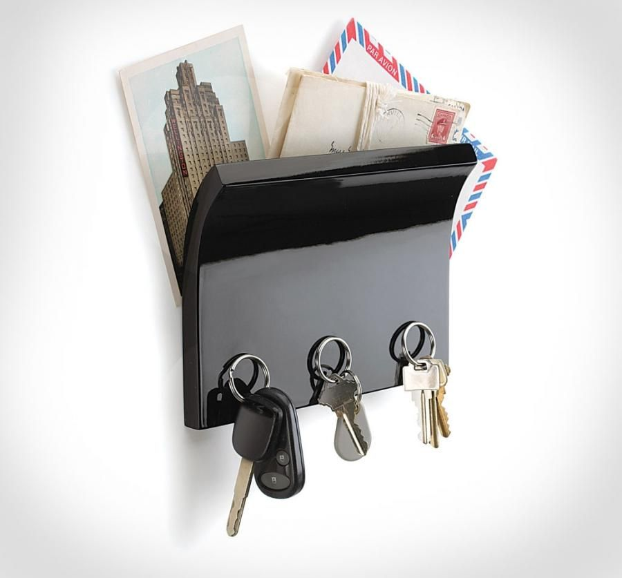 Wall Mounted Magnetic Key Holder And Organizer Unique