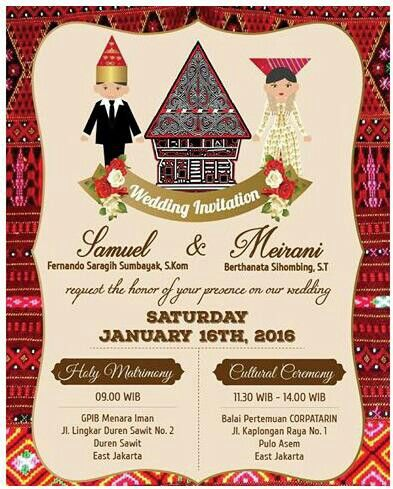 Card Wedding Contoh Undangan Pernikahan Undangan Pernikahan Lucu Undangan Pernikahan