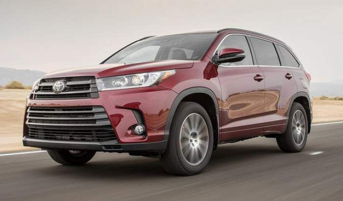 2018 Toyota Highlander Review Release Date Colors