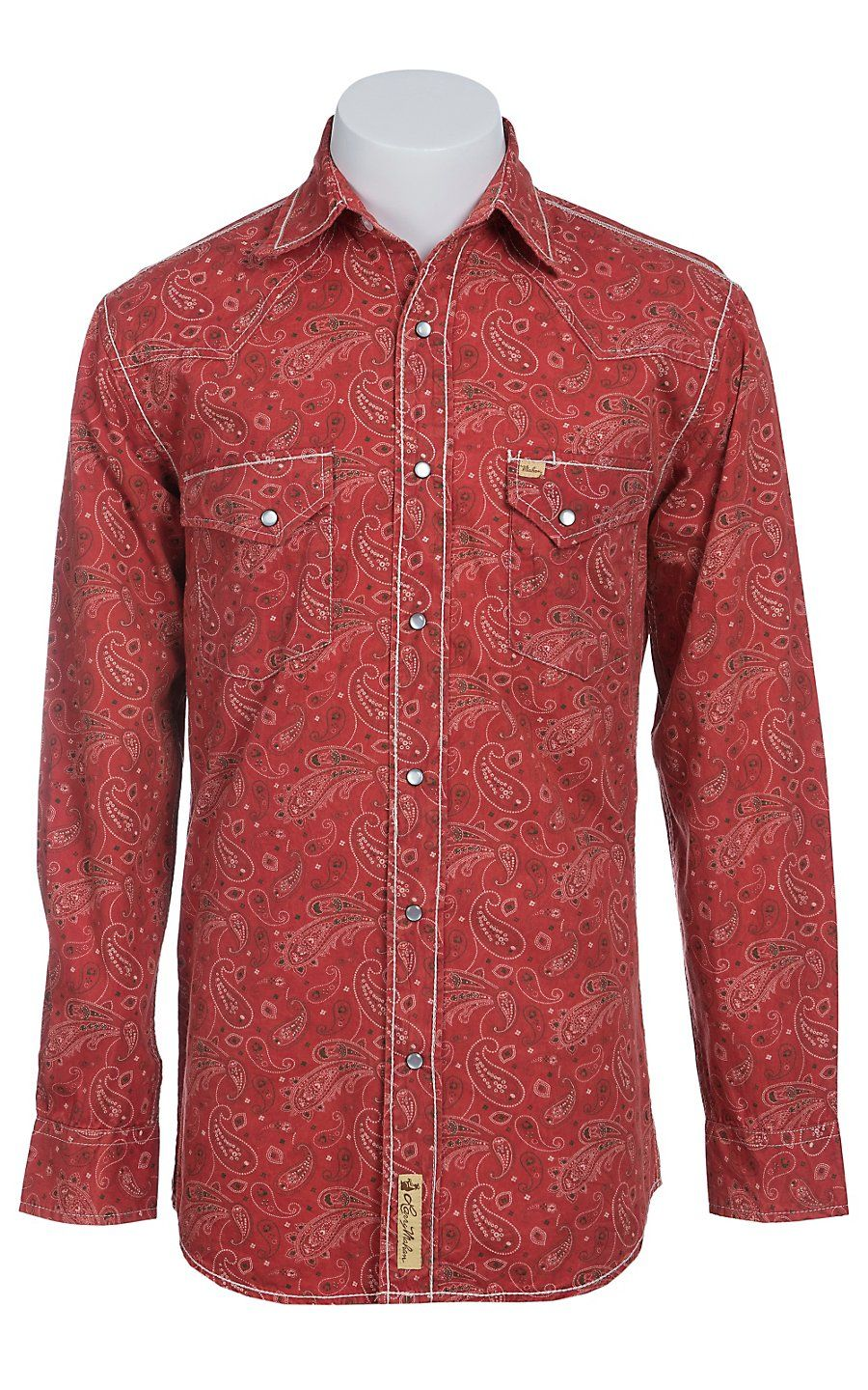 Larry Mahan Mens L/S Western Snap Shirt LM1410718