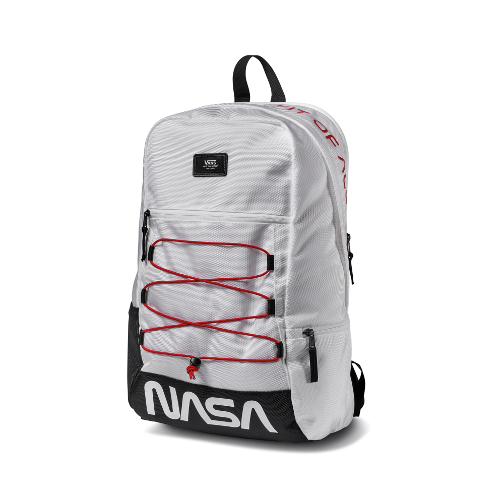 Details about VANS X NASA Space Voyager MN Snag Plus Backpack White ... 90629b7e7b