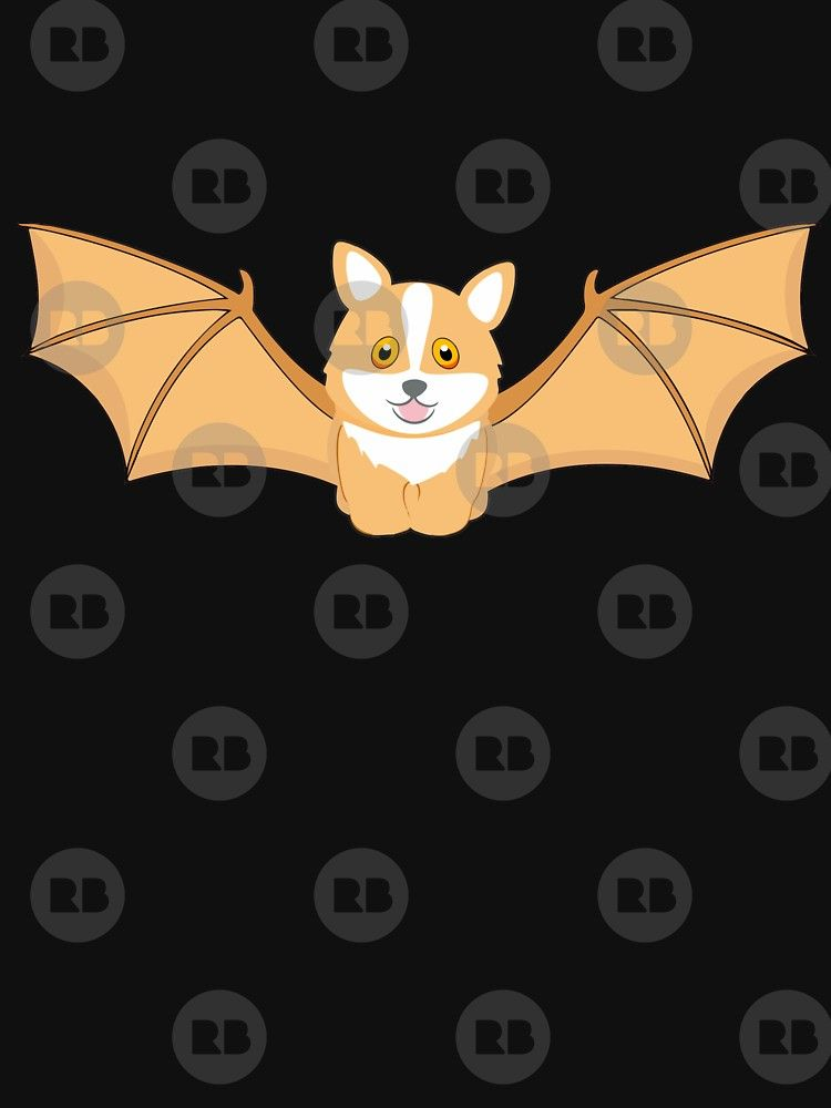 Corgi Bat By Dogshearted Funny Beautiful And Cutest Designs Products For Dogs Breed Women Men Clothes Shirt Arel