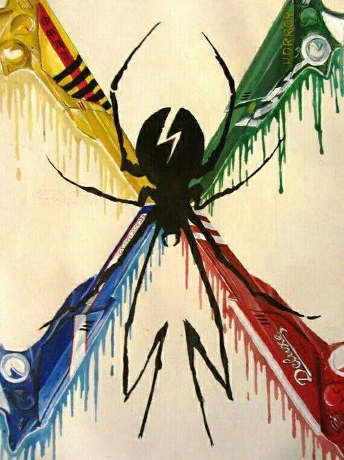 Killjoys - My Chemical Romance; My killjoy name is Demolition Heart