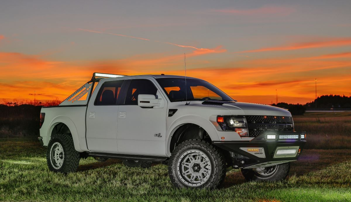 Shop ford raptor stealth fighter front bumpers at add offroad