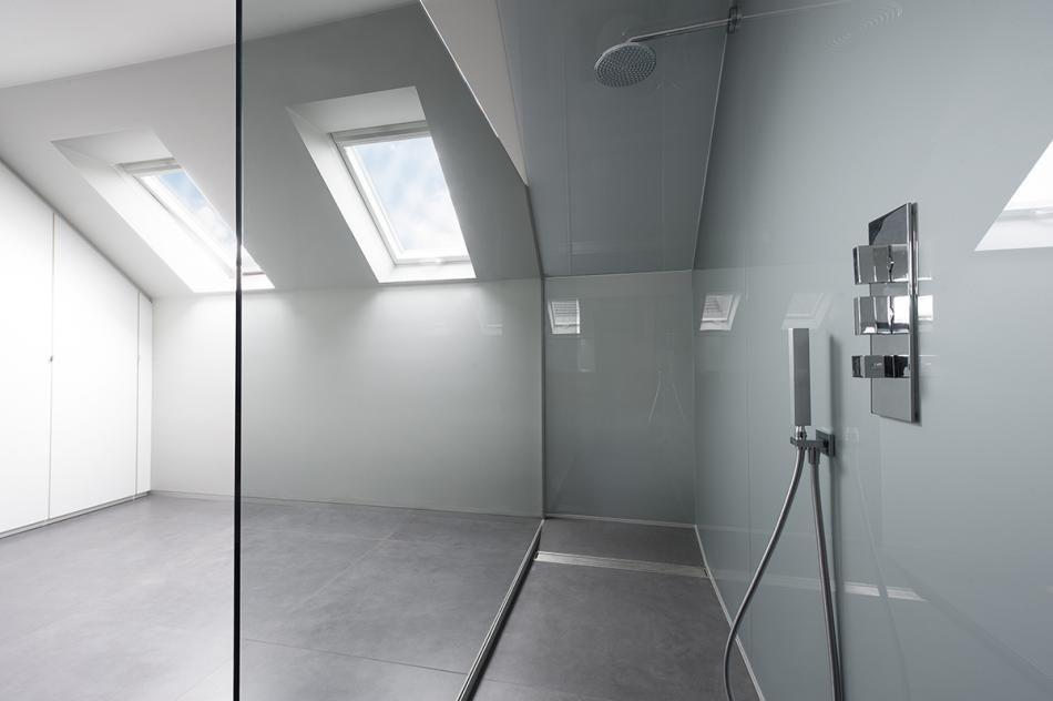 Glazen Schuifdeur Badkamer : Stalen deuren in de badkamer aquaconcept douchewanden wall