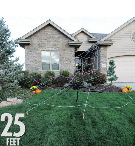 halloween spiders giant spiders spider webs spider decorations party city - Giant Spider Halloween Decoration