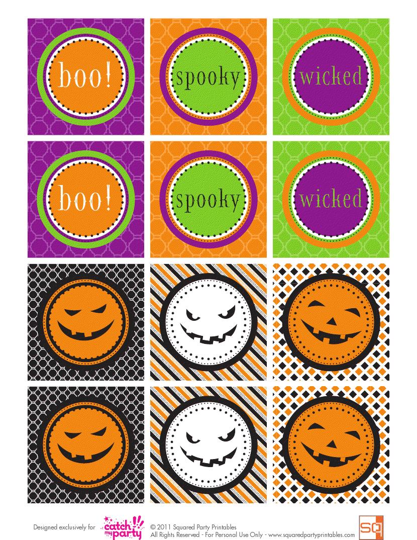 Halloween: Mini Kits para Imprimir Gratis. | Halloween | Pinterest ...