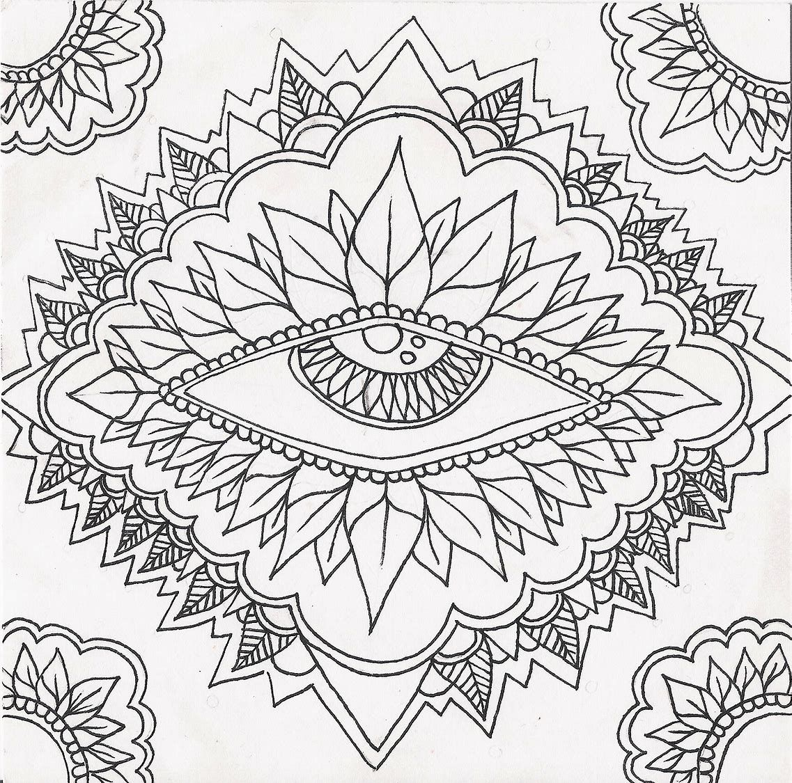 Image Result For Trippy Coloring Pages Printable Pictures To Print