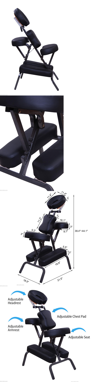 Electric Massage Chairs 3 Padding Portable Massage Chair Beauty