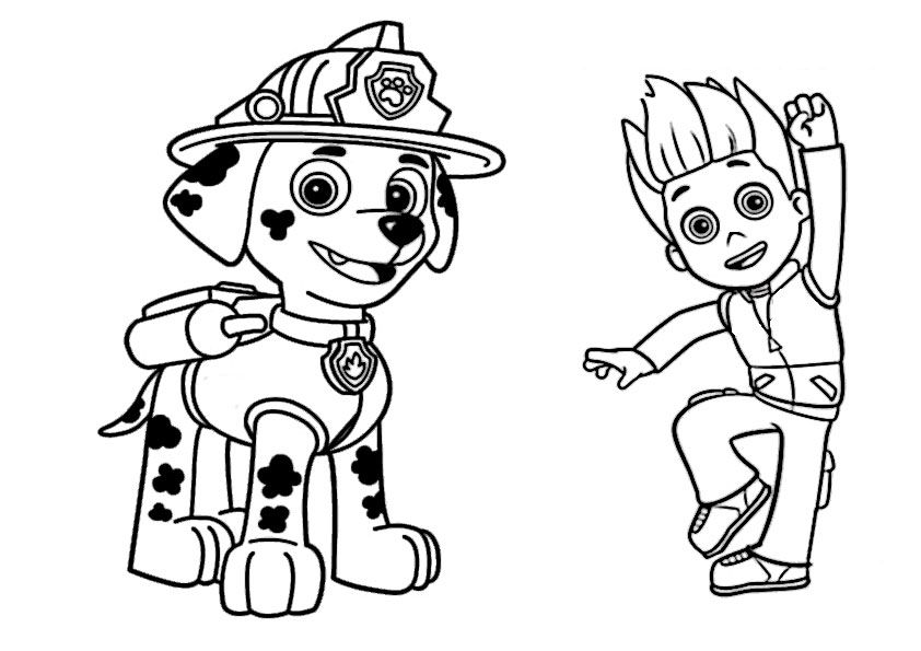 Images Of Everest From Paw Patrol Coloring Book Pages