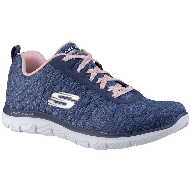 skechers flex appeal 2.0 memory foam knit sneaker shoe