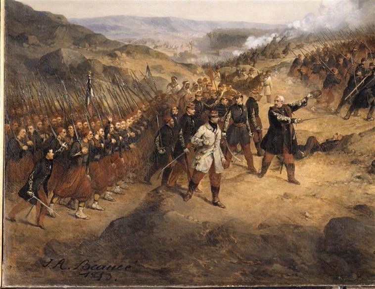Episode de la conquête de l'Algérie en 1852 Beaucé Jean Adolphe (1818-1875)…