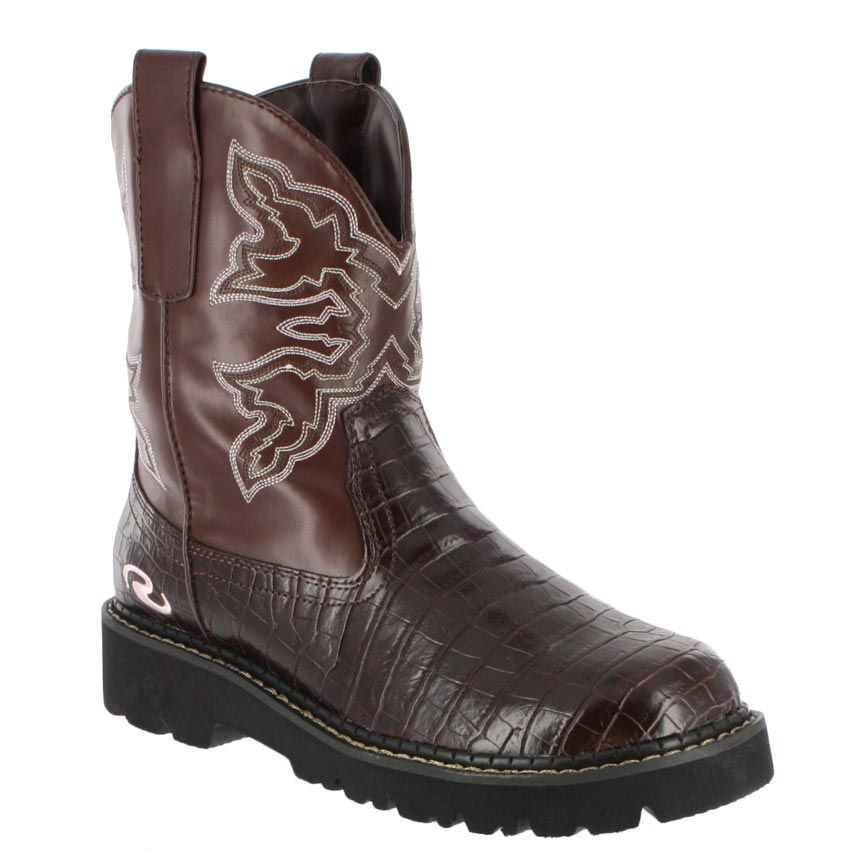 Roper Footwear Women\'s Chunk Faux Leather Boots   Cowboy boots ...