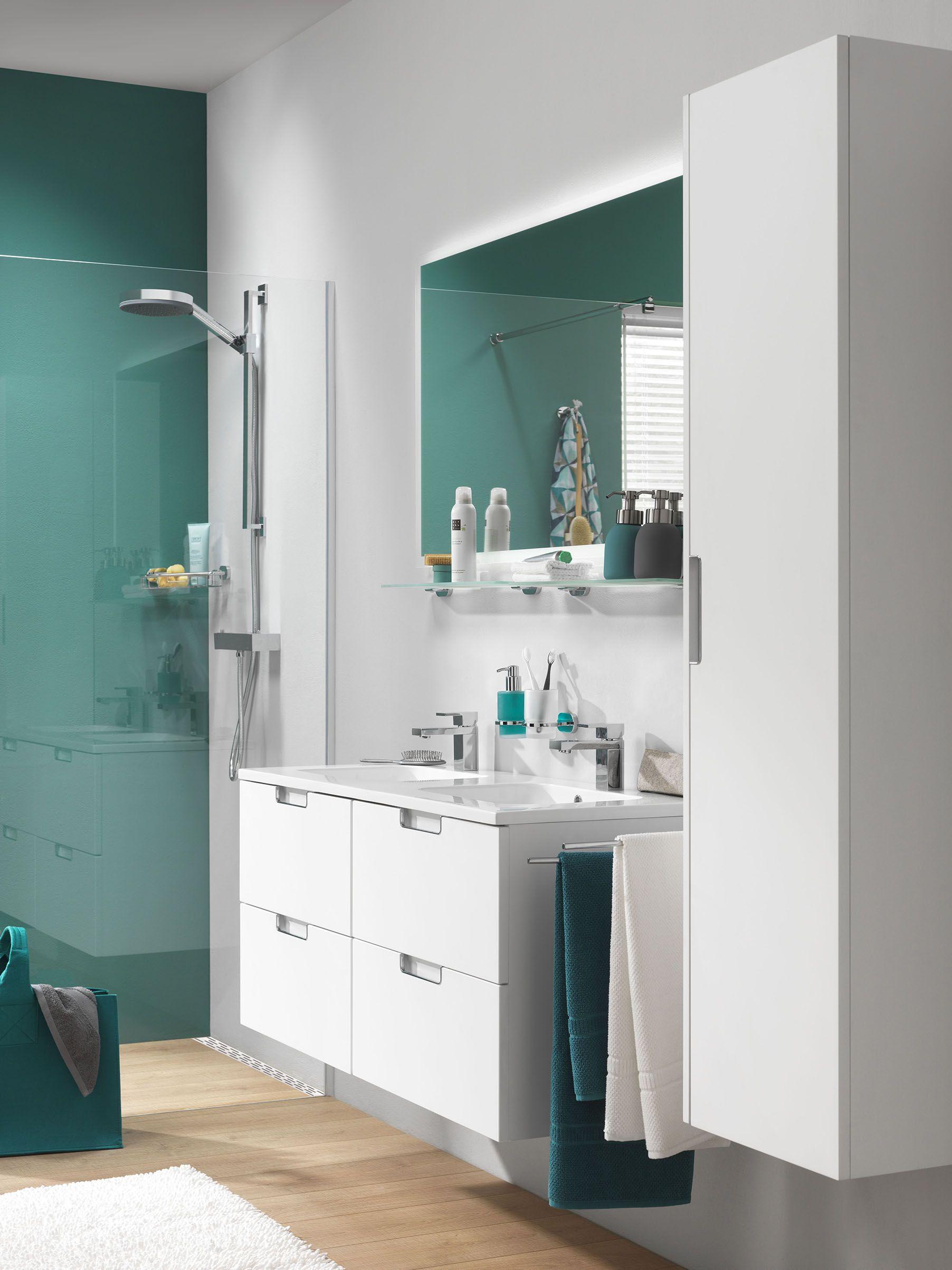 Lucca Wastafelonderkast Kolomkast Spiegel Kleur Wit Bathroom Mirror Lighted Bathroom Mirror Bathroom