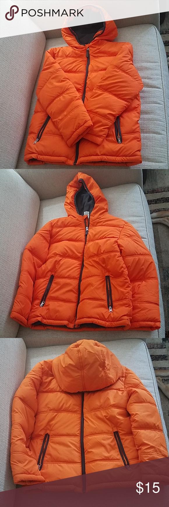 Boys Neon Orange Winter Jacket Winter Jackets Jackets Neon Orange [ 1740 x 580 Pixel ]