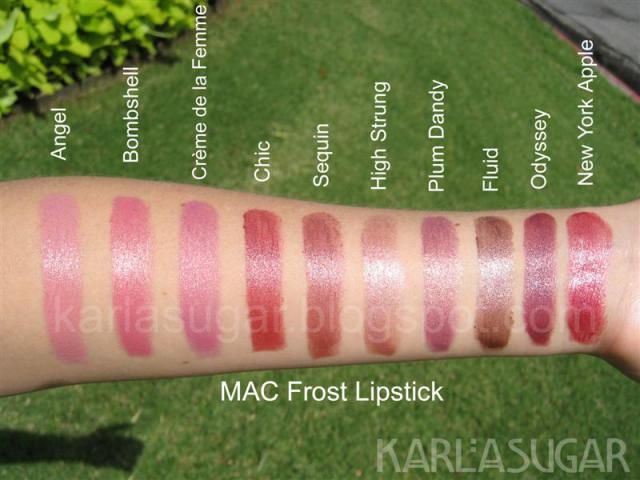 MAC Frost lipstick 2 Medium   Batom mac