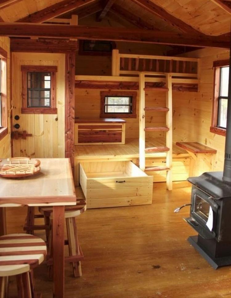 45 Interesting Small Cabin Ideas Interior Interiordesign Small