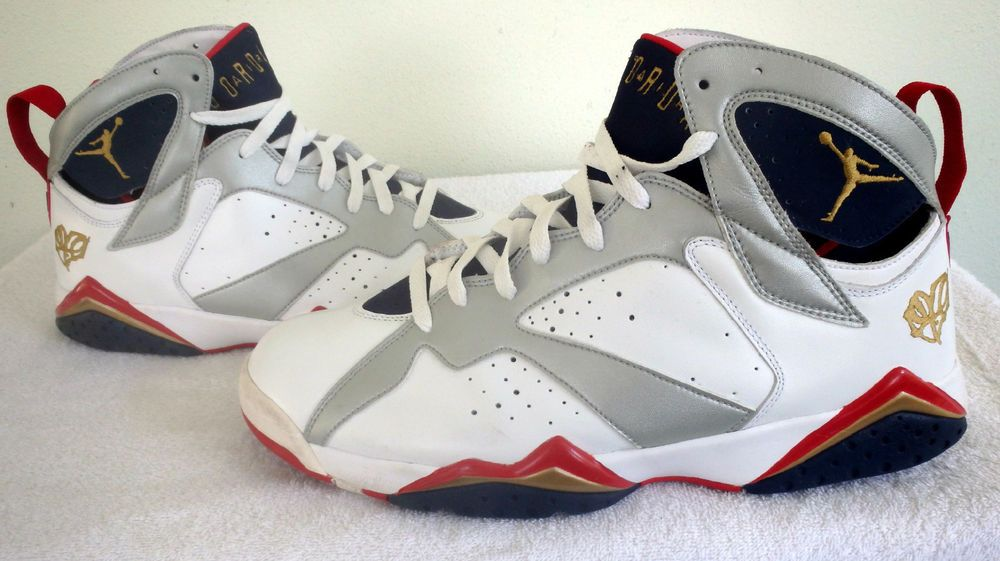 Nike Air Jordan 7 VII Retro Olympic FTLOTG For The Love Of The Game Sz 12 · Jordans  SneakersNike ...
