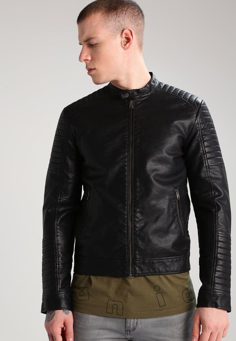 a8615b8ff72 CHAQUETA DE CUERO JACK AND JONES  chaqueta  chaquetadecuero  cuero  jones