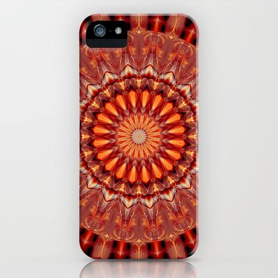 Mandala body-awareness iPhone & iPod Case by Christine baessler - $35.00