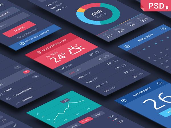 The What Why And How Of Mockups Designmodo App Interface App Interface Design Psd Mockup Template