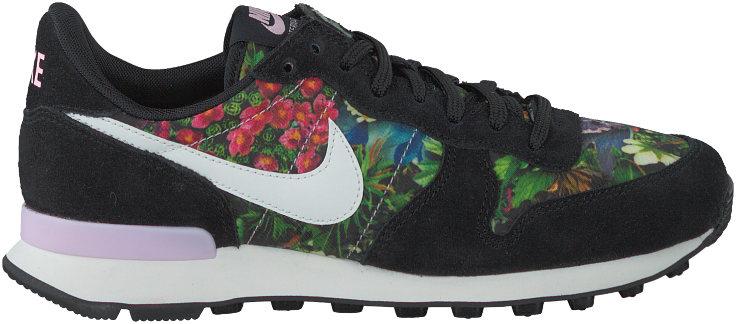 nike internationalist dames grijs zwart