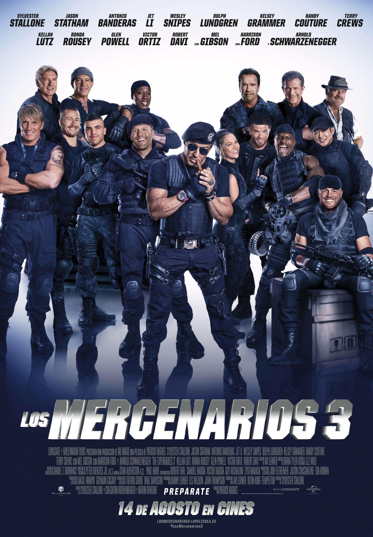 Los Mercenarios 3 Los Mercenarios 3 Los Indestructibles The Expendables