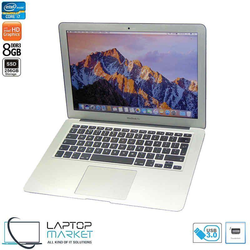 Macbook Air A1466 Core I7 8gb Ram 256gb Ssd Usb 3 0 Silver In 2020 Apple Macbook Macbook Apple Macbook Air