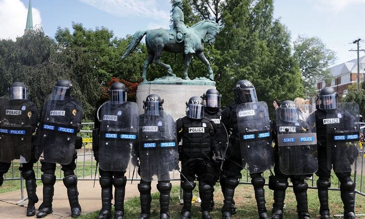 Proof That Police Didn't Do Enough While Charlottesville