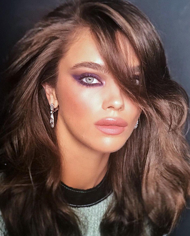 Pinterest DEBORAHPRAHA ♥️ purple smokey eye makeup look