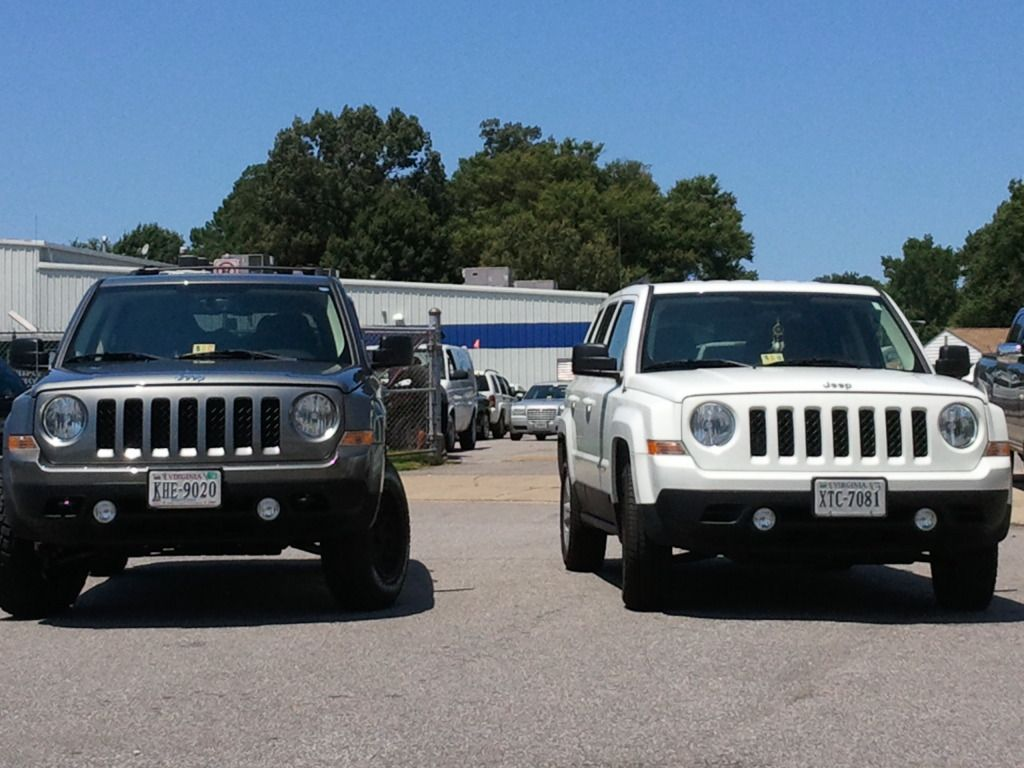 Jeep Patriot Forums - View Single Post - Ok who's a member of the LIFTED MK  CLUB?