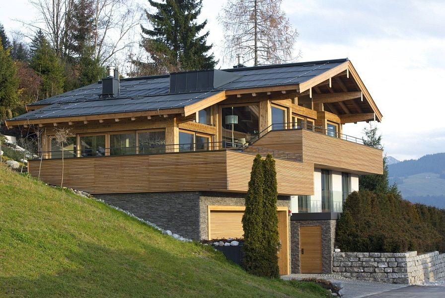 Ferienwohnung In Kitzbühel Kaufen Im Chalet | Let's Go Relax ... Kamine Landhaus Chalet