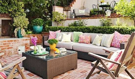 Small Outdoor Space Ideas Outdoor Living Pinterest