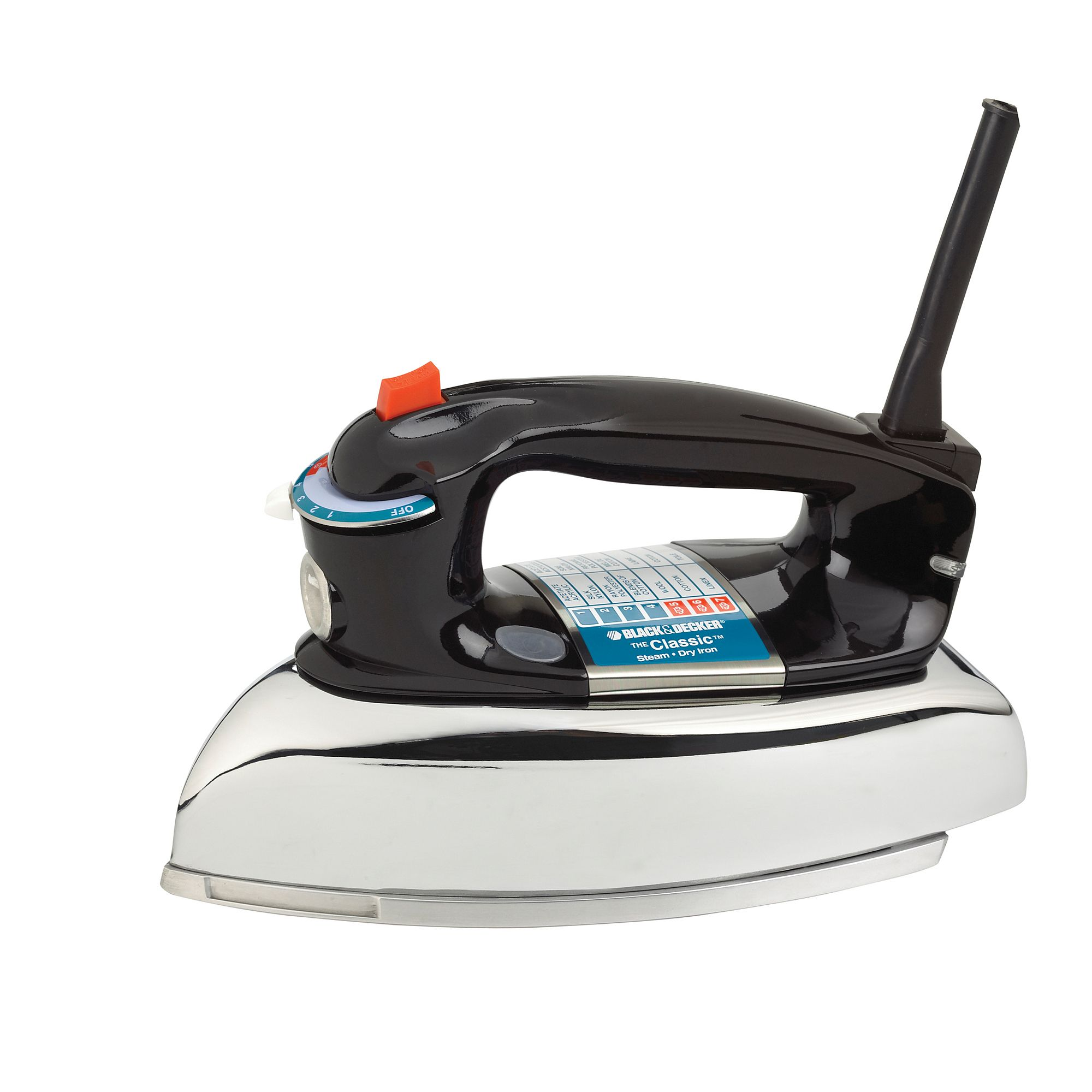 Black Decker Black And Decker Classic Iron Irons Ironing Systems How To Iron Clothes Black Decker Classic Metal