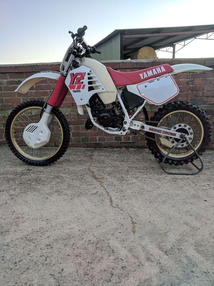 Ebay Yamaha Yz 125 1987 Evo Motocross Bike Not Kx 125 Or Rm125