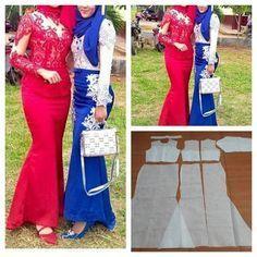 "Photo of Jasa pembuatan pola pakaian on Instagram: ""Basic kebaya graduation pattern dress  Order via l…"